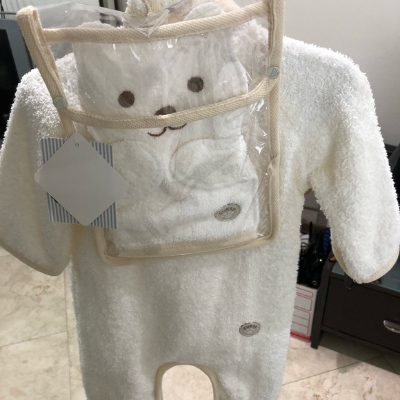 Guess Other - Layette towel onesie